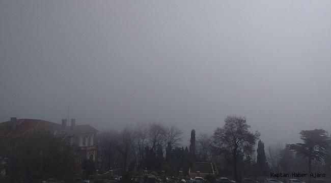 Marmara Denizi'nde yoğun sis
