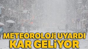 Meteoroloji uyardı! Kar geliyor, 28 Şubat 2019 yurtta hava durumu