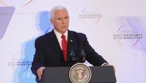 """Pence AB ülkelerine seslendi: """"İran nükleer anlaşmasından çekilin"""""""