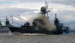 Rus donanmasından Karadeniz'de füzeli tatbikat