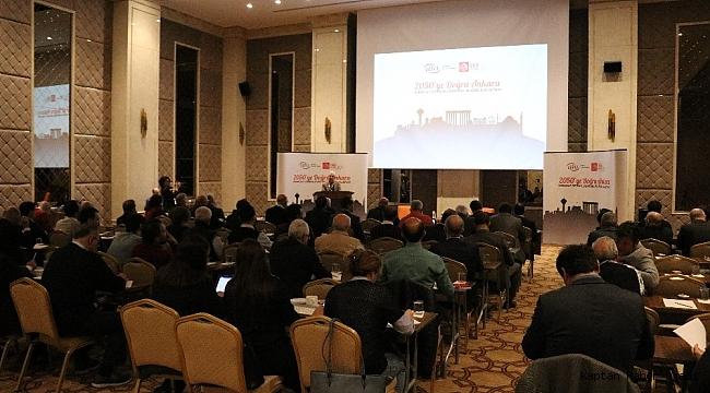 """Bolu'da """"2050'ye Doğru Ankara İhracat Stratejisini Belirleme Çalıştayı"""" düzenlendi"""