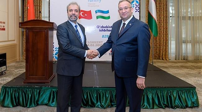 """DAİB Yönetimi Kurulu Başkanı Tanrıver: """"Özbekistan bölgemiz ihracat seferberliği için ciddi bir fırsat"""""""