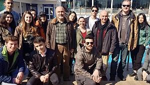Denizci Sağlığı 2. sınıf öğrencileri Türk Balıkadamlar Kulübü Gezisi