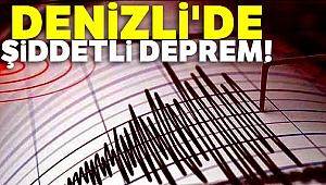 Son dakika... Denizli'de şiddetli deprem |Son depremler...