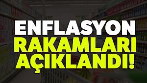 Son dakika: Enflasyon rakamları açıklandı...