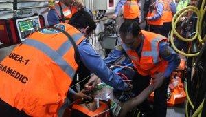 Türk denizaltı kurtarma timi Mavi Vatan'da göz doldurdu