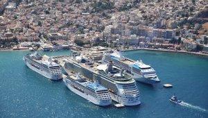 Akdeniz kruvaziyer sektörü Kuşadası'nda buluşuyor