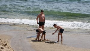 Alanya'da deniz keyfi