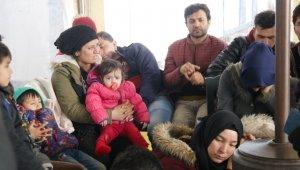 Çanakkale'de 123 mülteci yakalandı
