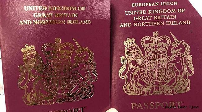 İngiliz pasaportlarında AB ibaresi kaldırıldı