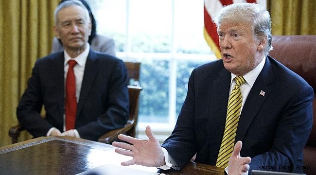 Trump: Çin'le anlaşma yakın