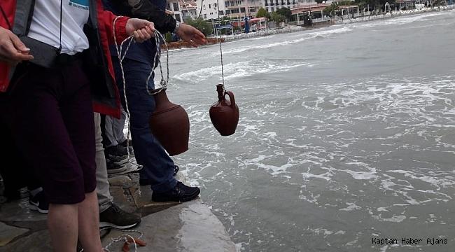 Akdeniz'in suyu, Ege'yle buluştu