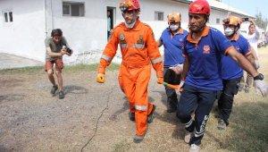 Denizkurdu 2019'da gerçeğini aratmayan deprem tatbikatı