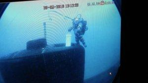 Kurtaran-2019'da, senaryo gereği arızalanan denizaltından kurtarma yapıldı