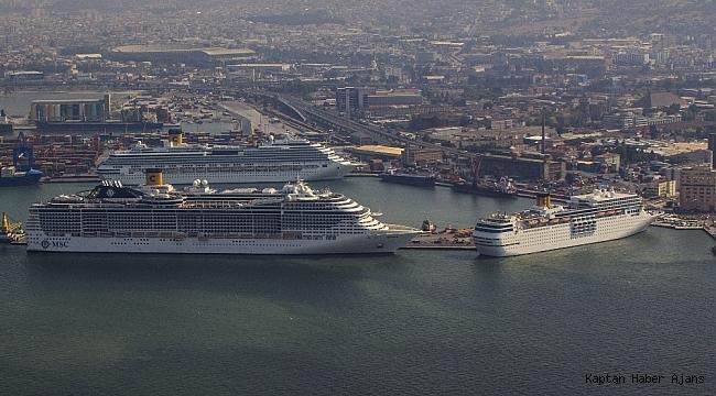 Limanlar kruvaziyer gemilerini bekliyor