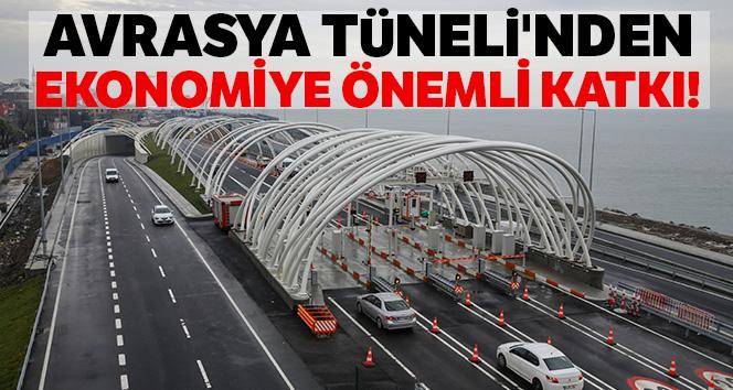 Avrasya Tüneli'nin yılın ilk 6 ayındaki geliri yaklaşık 300 milyon TL
