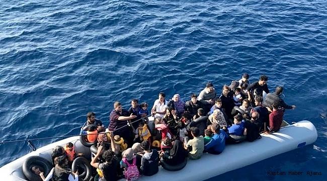 Bodrum'da 51 göçmen yakalandı