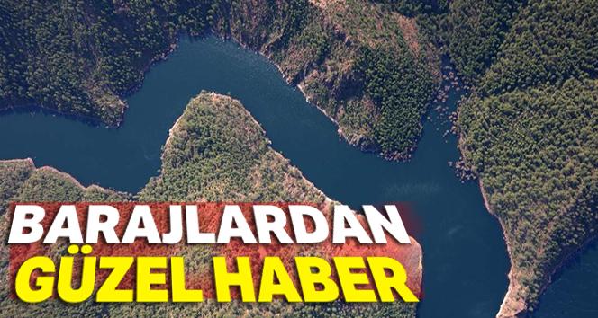 Bursa'nın barajlarından güzel haber
