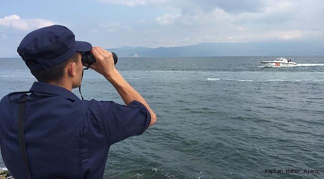 Denizde arama çalışmaları sürüyor