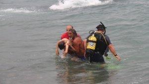 Giresun'da serinlemek için arkadaşı ile denize giren çocuk kurtarılamadı