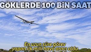 Göklerde 100 bin saat
