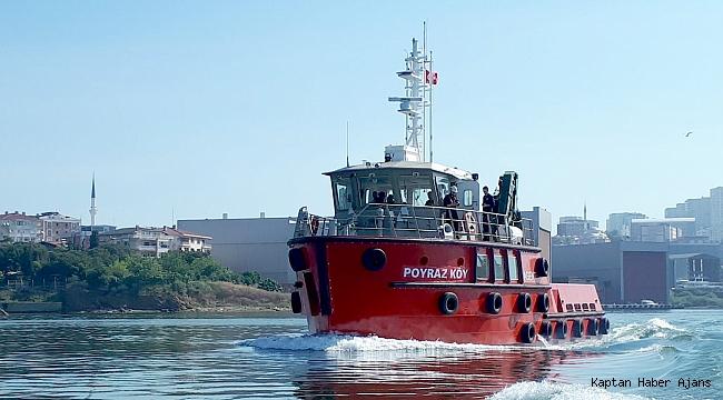 Sanmar, Boğazda çalışacak hizmet teknesini Düzgit Grup'a teslim etti