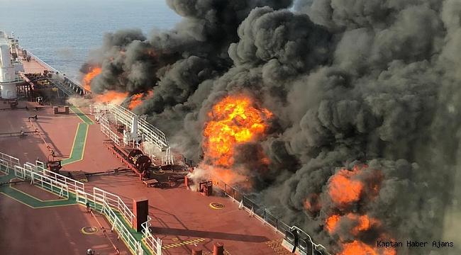 Vurulan tankerin sahibi: