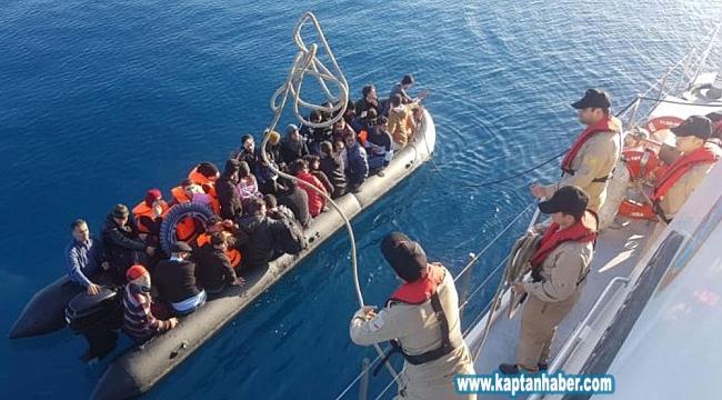 6,5 ayda 144 göçmen öldü, 16 bin 724 tanesi kurtarıldı !