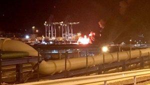 Aliağa'daki Petkim Limanında LPG Tankeri Patladı: 1 Ölü, 1 Ağır Yaralı