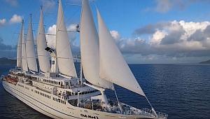 'Club Med 2', Sarayburnu'na demir attı