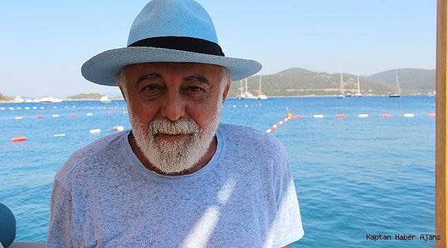 Denize açılmak için teknesinin yanına giden ünlü iş adamı şok oldu