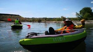 Diyarbakır'da kano heyecanı
