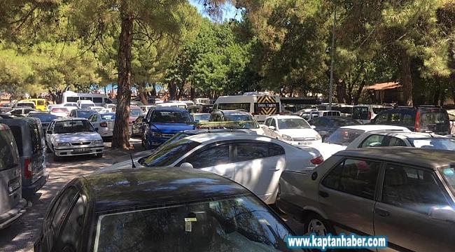 Güzelçamlı Milli Parkı araç girişine kapatıldı