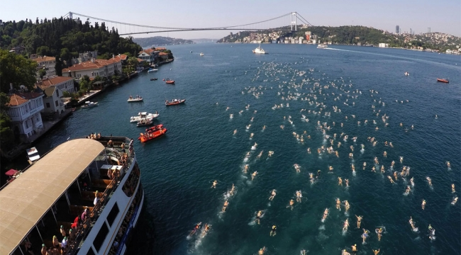 İstanbul Boğazı Kıtalararası yüzme yarışına hazır