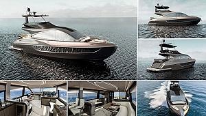 'LY 650' isimli lüks tekne, yıl sonunda denize iniyor
