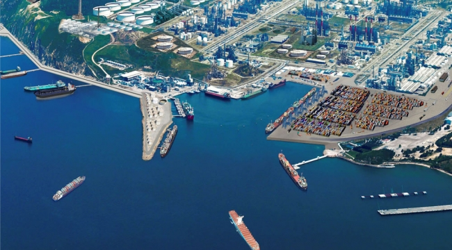 Petkim Limanı'na 4. kez Yeşil Liman Sertifikası verildi