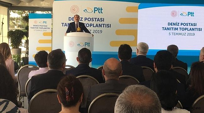 """PTT'den bir ilk, """"Deniz Postası"""" hizmete girdi"""
