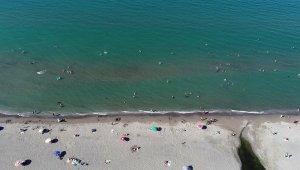 Samsun'un haziran ayı deniz suyu sıcaklığı Karadeniz'in ortalama değerlerinin üzerinde