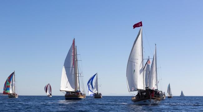 350 yelkenci Moda'dan Tirilye'ye yarışacak