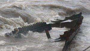 9 yıl önce batan gemi sökülerek denizden alınacak