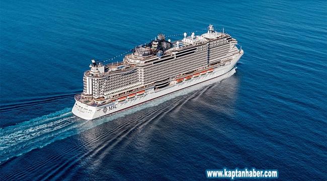 AIDA Cruises'dan emisyon azaltımı için dev adım