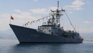 Başkan Semih Esen, TCG Gelibolu Gemisinde