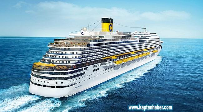 Costa Cruises filosuna bir gemi daha geliyor