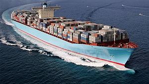 Dünya'nın en büyük konteyner gemisi ilk seferine çıktı