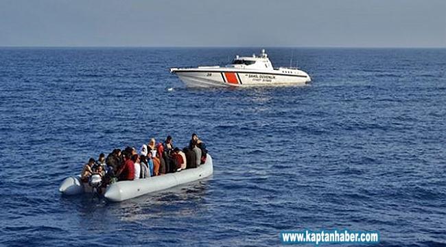 Ege'de 22 bin düzensiz göçmen yakaladı