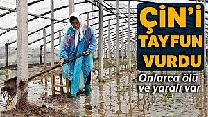 Lekima tayfunu Çin'i vurmaya devam ediyor: 48 ölü, 21 kayıp