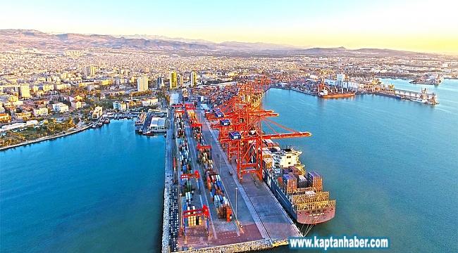Mersin Liman Başkanlığı, elleçlenen yük miktarı ile 5'inci sıraya yükseldi