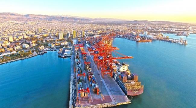 Mersin Limanı'na uğrayan gemi oranı yüzde 16 düştü