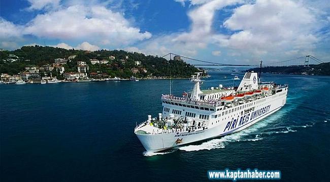 PRÜ eğitim gemisi 6. seferine çıktı