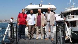 Ümraniye Belediyesi, Ümraniyelilere boğaz turu keyfi yaşatıyor
